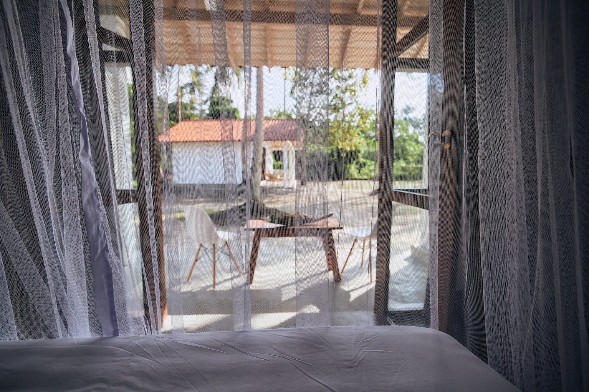Luxury accommodation in tropical destination